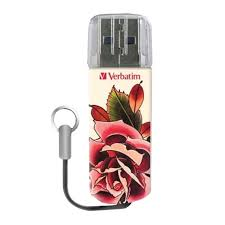 "Купить <b>Флеш</b>-<b>диск 32 GB</b>, <b>VERBATIM</b> Tattoo, USB 2.0, ""Роза ..."