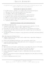 Writing Resume Examples Marketing Resume Writing Examples For