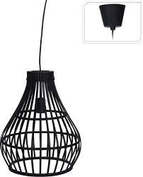 Lamp Bamboe Zwart Tuincentrum Pelckmans