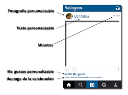 Personalizable Instagram Bcnfotos - Photocall