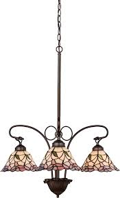 meyda tiffany 27419 daffodil bell tiffany pink mini chandelier light loading zoom