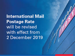 Postage Rates Delivery Times Singapore Post