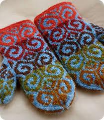 Mittens Pattern Impressive Mitten Pattern For Knitterss Knit And Crochet Pinterest