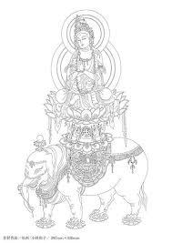 大人の塗り絵写仏仏画弁才天 サラスヴァティー Mandalas