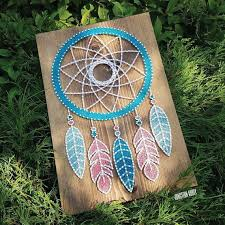 How To String Dream Catcher Dream Catcher String Art 2