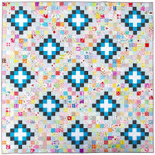 397 best RED PEPPER QUILTS images on Pinterest | Colors, Heart ... & Irish Chain Scrap Buster Quilt | Red Pepper Quilts 2015 Adamdwight.com