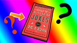 reading the good old joke book on camera for some reason