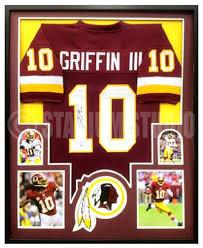 Redskins Griffin Jersey Framed Autographed Iii Robert