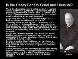 and unusual punishment essay cruel and unusual punishment essay