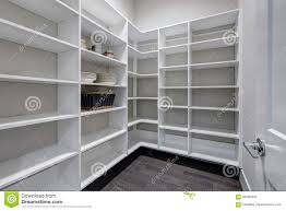 Image Ideas Empty Pantry Interior With White Shelves And Dark Floor Dreamstimecom Empty Pantry Interior With White Shelves And Dark Floor Stock Image