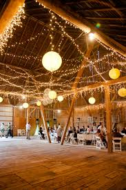lighting ideas for weddings. twinkle light barn wedding reception captured by httpwwwmarvelousthingsphotography lighting ideas for weddings o