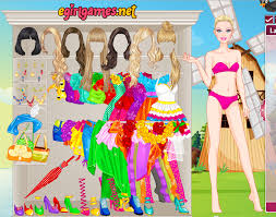 play barbie dressing up games