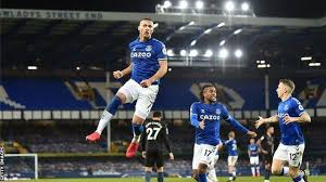 Manchester city have won each of their last six premier league games against everton, as many as they had in their previous 21 against the toffees (d5 l10). Everton 1 3 Manchester City Twelve League Wins In A Row For Pep Guardiola S Side Bbc Sport