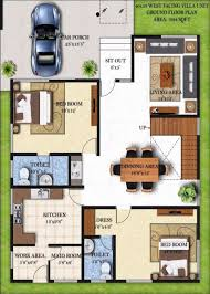 40 x 40 duplex house plans best of ground level house plans luxury small house design