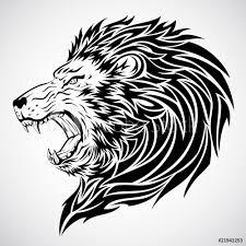 Fotografie Obraz Lion Tattoo Posterscz