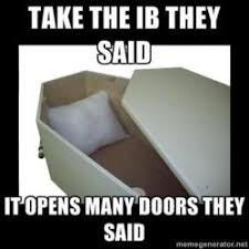 IB Jokin': Our favorite IB memes | The Mash via Relatably.com