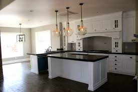 traditional kitchen lighting. Impressive L Shaped Kitchen Equipped With Minimalist Island And Completed Pendant Lighting Traditional T
