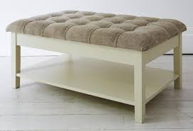 Upholstered Coffee Table Diy Upholstered Coffee Table Ottoman Designs Home Design And Decor