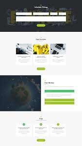 Website Html Templates GoGreen Waste Management And Recycling HTML Template Modern Web 19