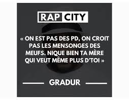 Citation Rap City Citation Damour