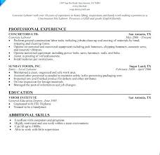 Construction Worker Resume Sample Resume Genius Construction Worker