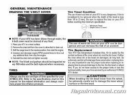 Kymco Mxu 375 Le Atv Owners Manual