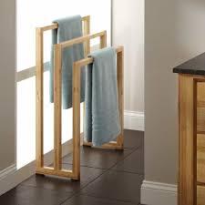 modern towel rack. Wooden Towel Rack For Gorgeous Modern Bathroom Idea E
