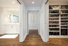 closet sliding doors pocket floor to ceiling bag shelves shoe master with door track repair
