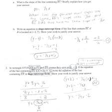 writing equations of lines worksheets math writing equations for parallel lines students are asked to identify