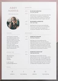 Two Page Cover Letters Professional Resume Cv And Cover Letter Template A Professional Two