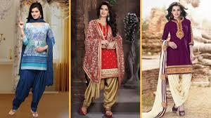 Punjabi Salwar Kameez Designs 2018 Latest Patiala Salwar Kameez Designs For Punjabi Girls 2018