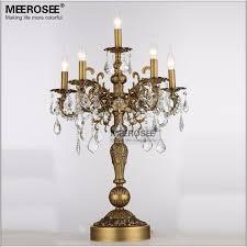 vintage bronze desk lamp. Brilliant Desk Best Quality 21 Inch Bronze Color Vintage Desk Lamp Crystal Table Light  Bedroom Living Room 6 Holders Tl3134 At Cheap Price Online  Inside E
