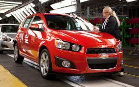 2012 Chevrolet Sonic Turbo Earns 40 MPG Highway Rating