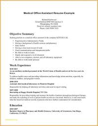 Office Assistant Objective Resume For Medical Assistant Objective Resume Resume