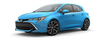 2019 Toyota Color Chart What Are The 2019 Toyota Corolla Hatchback Color Options