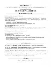 Transportation Resume Examples Resume Template Truck Driving Resume Examples Diacoblog Com