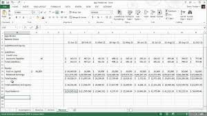 How To Model A Balance Sheet Pluralsight Youtube
