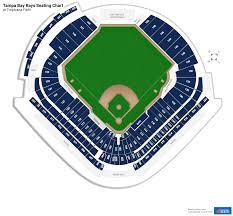 ta bay rays seating charts at