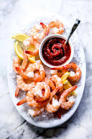 Mamma found this great shrimp appetizer recipe and it's too good not to share. Easy Shrimp Cocktail With Homemade Cocktail Sauce Foodiecrush Com