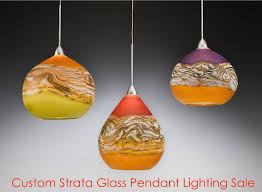 hand blown glass pendant lights great lighting 2018 interior design 16