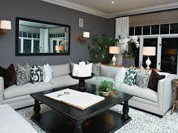 Small Picture Gray Themed Living Room Home Decorating Interior Design Bath