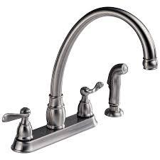 Double Handle Kitchen Faucet P99596 Ss Two Handle Kitchen Faucet