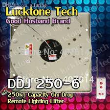 2018 whole lighting hoist remote controlled lighting lifter chandelier lift ddj250 6 250kg capability 6m drop 110 240v from alluring 1088 45 dhgate