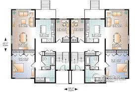 Duplex House Plan And Elevation 1770 Sq Ft Home Design 4 Bedroom 4 Bedroom Duplex Floor Plans