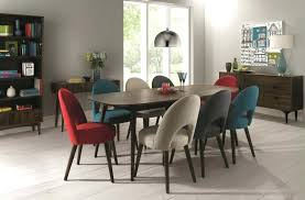 walnut dining room chairs designs walnut dining set 6 8 extending table with 8 multi color