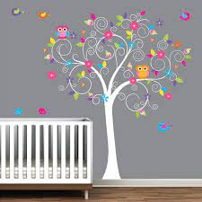 baby nursery tree wall decal wall