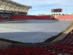 Rio Tinto Stadium Section 7 Home Of Real Salt Lake Utah