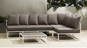 furniture cb2. Photo 1 Of 5 Cb2 Outdoor Furniture Good Looking #1 Casbah Sectional .