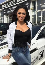 Big boobs girls rally cars