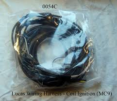 0054c lucas wiring harness coil ignition